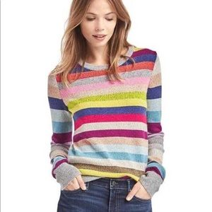 GAP crazy stripes pullover / xsmall